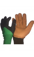 Перчатки нейлон Дачные, код 151