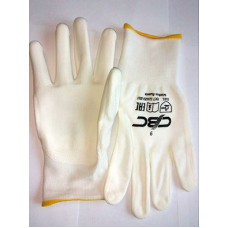 Перчатки нейлон с полиуретаном, код 153