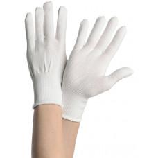 Перчатки нейлон без покрытия Россия, размер М, код 219
