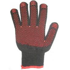 Зимние рабочие перчатки акриловые с ПВХ код 243