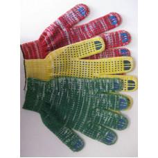 Перчатки с ПВХ Светофор набор из 3 пар, код 830
