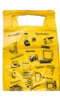 Пакет - майка Техника желтый код 560