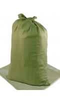 Мешок п/п зеленый (1/100/1000) 55*95 код 573