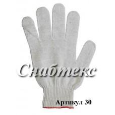 Перчатки хб 10 класс, код 030