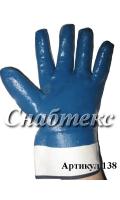 Перчатки нитрил манжета крага - стандарт, код 138