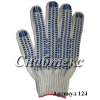Перчатки пвх-протектор, 10 класс 5-нитка, код 124