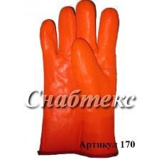 Перчатки Зима Пламя крага длинная, код 170