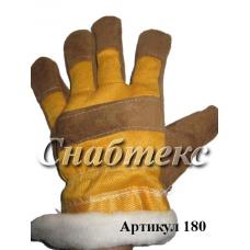Перчатки Зима Русские Львы утепленные, код 180